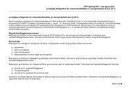 Lovpligtig redegørelse for virksomhedsledelse ... - NTR Holding A/S