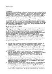 ABI Informatic - WM Datenservice
