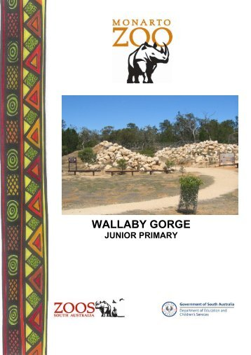 Activities at Wallaby Gorge - Zoos South Australia