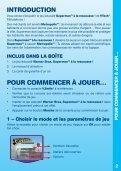 Manuel d'utilisation - Console V.Smile - Page 3
