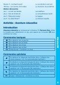 Manuel d'utilisation - Console V.Smile - Page 7