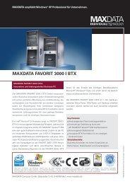 MAXDATA FAVORIT 3000 I BTX