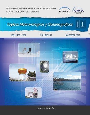 Edición Diciembre 2012 - Instituto Meteorológico Nacional