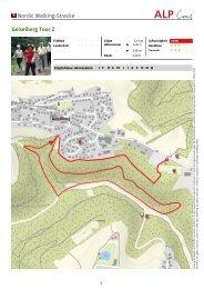Nordic Walking-Strecke Geiselberg Tour 2
