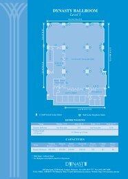 Ballroom & Function Room Layout Plan