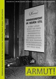 didaktische Themenheft - Armut - Perspektiven in Kunst und ...