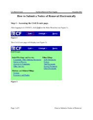 How to Submit a Notice of Removal Electronically - Northern District ...