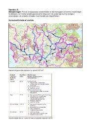 Værebro Å: Målsætningen: For de analyserede vandområder er det ...