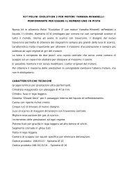 KIT POLINI EVOLUTION 3 PER MOTORI YAMAHA-MINARELLI ...