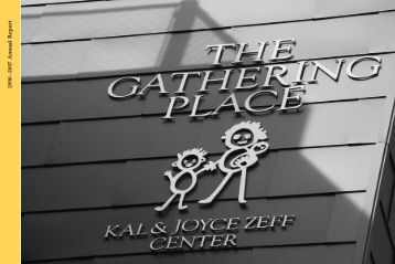 TGP 06-07 annual - The Gathering Place