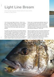 Light Line Bream - Fly Angler Australia