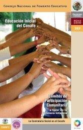Díptico Educación Inicial del Conafe. - conafe.edu.mx