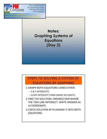 Solving Multi-Step Equations 1.2 - Big Ideas Math