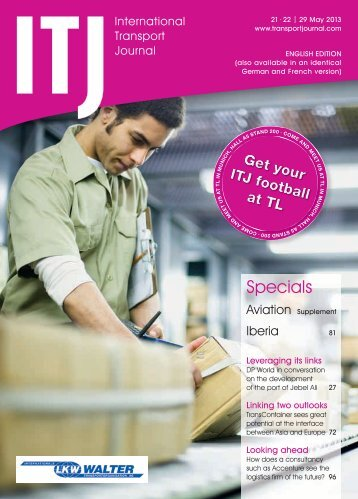 Specials - ITJ | Transport Journal