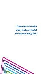 Lönsamheten 2010 - Teknikföretagen