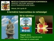 Nagygál János - Új Magyarország Vidékfejlesztési Program