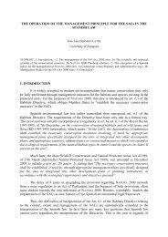 JUDICIAL OBSERVATORY NATURA 2000 - CIDCE