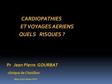 Coeur et voyages aériens. Quels risques - Club des Cardiologues ...