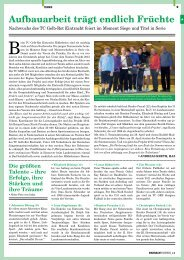 """European Karate"" Tennis als Jungbrunnen - TC-Gelb-Rot-Eintracht ..."