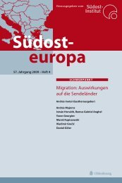 Südosteuropa - christophe+solioz