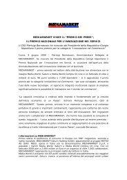 """MEDIAMARKET VINCE IL """"PREMIO DEI PREMI"""", IL PREMIO ..."""