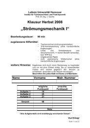 H08 - TFD - Leibniz Universität Hannover