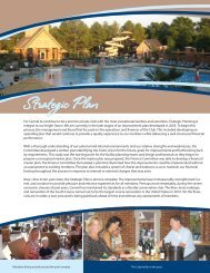 Strategic Plan - Carmel Country Club