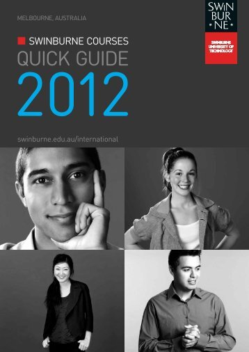 QUICK GUIDE - International Students - Swinburne University of ...