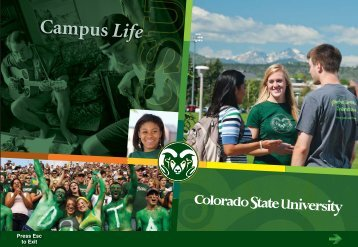 Campus Life - Admissions - Colorado State University