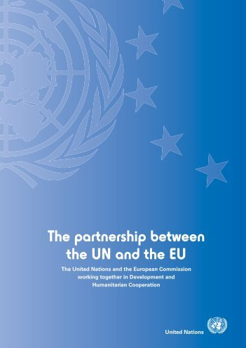 The partnership between the UN and the EU - Unric