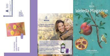 Weleda Magazine hiver 2012 PDF-Download