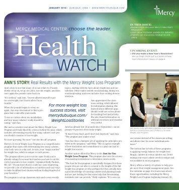 Mercy Health Watch - Mercy Medical Center Dubuque