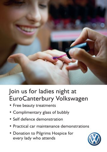 Join us for ladies night at EuroCanterbury ... - Pilgrims Hospices