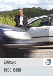 Ladda ner broschyr om Volvo Assistans (PDF)