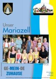 Mariazell Juli 2013 - Stadt Mariazell