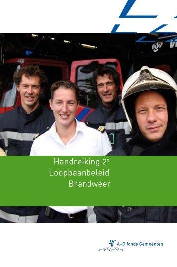 handreiking 2e loopbaanbeleid brandweer 01 - A+O fonds ...