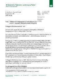Ministeriet for Fødevarer, Landbrug og Fiskeri w - WebKontrol V.5 ...