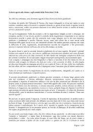 Lettera aperta alle donne e agli uomini della Protezione Civile