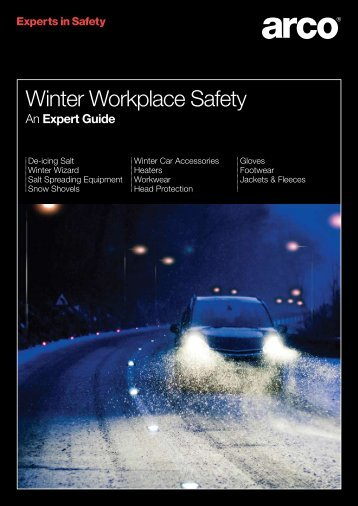 Winter Workplace Safety - Arco
