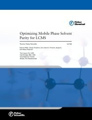 Optimizing Mobile Phase Solvent Purity for LCMS