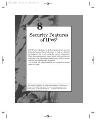 Security Features of IPv6