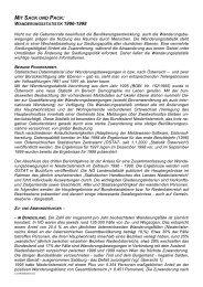 Mit Sack und Pack. Wanderungsstatistik 1996-1998 - raumordnung ...