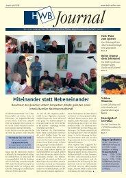 PDF HWB-Journal April 2006 - h e n n i g s d o r f . d e