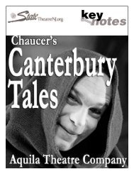 The Canterbury Tales - State Theatre