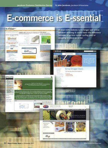 E-commerce is E-ssential - Metal Center News