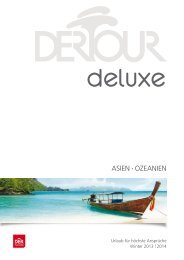 DERTOUR - Deluxe: Asien, Ozeanien - Winter 2013/2014