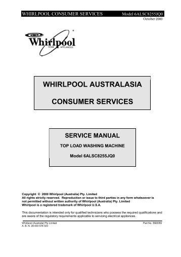 whirlpool consumer servic rh yumpu com maytag mfi2568aes service manual Water Filter for Maytag MFI2568AES