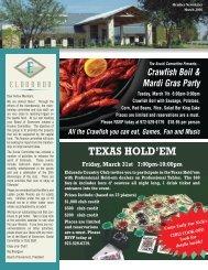 Member Newsletter March 2006