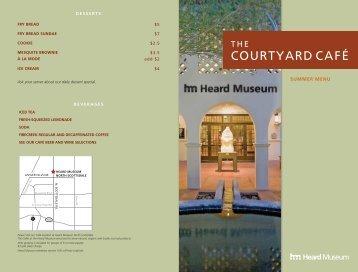 COURTYARD CAFÉ - Heard Museum