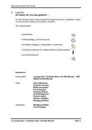 Moorbildung nach der Eiszeit - rolf-wellinghorst.de